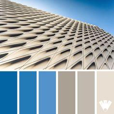 Geometric building | Journal des couleurs