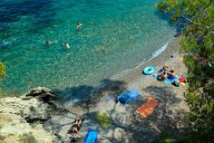 Paloma Plage, one of Cap Ferrat's prettiest beaches, just east of Nice