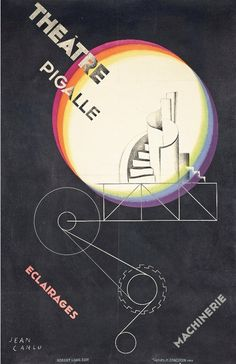 Theátre Pigalle, by Jean Carlu