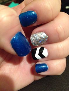 Nails to support the UK Wildcats