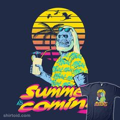Summer is Coming #duss #gameofthrones #palmtrees #summer #tvshow #whitewalkers