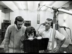 Larry Levine photo of the Righteous Brothers with Phil Spector at Gold Star Bobby Hatfield, Bill Medley, The Righteous Brothers, Unchained Melody, Wall Of Sound, 70s Tv Shows, Ike And Tina Turner, Backing Tracks, Los Angeles Area