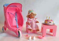 Zapf Creations Baby Born Miniworld - Doll Stroller Chair Table Birthday