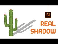 Realistic Shadow in illustrator | Illustrator Tutorial - YouTube