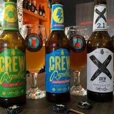 Cervejas Alemãs da Crew Republic #cerveja #degustacao #beer #tasting