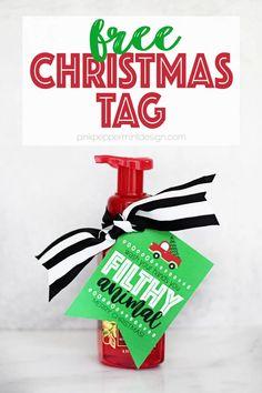 Neighbor Christmas Gifts, Neighbor Gifts, Christmas Fun, Christmas Movies, Christmas Recipes, Christmas Presents, Holiday Gifts, Christmas Tags Printable, Free Printable Gift Tags