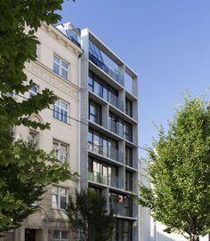WHS - Wohnhaus Stolberggasse Vienna, Austria // Josef Weichenberger architects + Partner