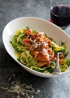 Zucchini Noodles And Ground Turkey Recipe.Chinese Five Spice Ground Turkey Zucchini Noodles Recipe . Just A Taste Zucchini Noodles With Turkey Bolognese. Zucchini Noodles With Turkey Recipe Marinara Sauce. Home and Family Zucchini Noodle Recipes, Zoodle Recipes, Healthy Zucchini, Healthy Vegetables, Zucchini Noodles, Recipe Zucchini, Buckwheat Noodles, Shirataki Noodles, Vegan Recipes