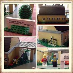 Lego Kingdom Hall made by @dustymcqueendmc