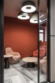 Office - Vitol Group - Trentini Office Interior Design, Office Interiors, Maker Labs, Workplace Design, Small Office, Working Area, Offices, Color Combinations, Showroom