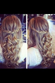 I wish someone would just do this to my hair!