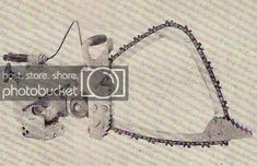 History of the Bow Chain Saw, the Pulpwood Saw. by Tom Hawkins & Sons The begining's of the modern day bow type chain saw can be directly traced back. Chainsaw Repair, Old Time Photos, Wood Tools, Bows, Tote Bag, History, Antiques, Image, Collection