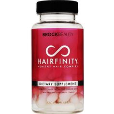 Hairfinity Healthy Hair Vitamins Supplements 60 Capsules ($36) ❤ liked on Polyvore featuring hair, items, food, makeup, other and filler
