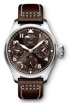 IWC [NEW][LIMITED EDITION 1000 PIECE][全新限量1000支] Big Pilot Brown Dial Auto Mens IW503801 (Retail:HK$211,000) ~ UNBEATABLE OFFER: HK$156,000. #IWC #BIGPILOT #IWCBIGPILOT #BIGPILOTBROWN #IWCLIMITED #IW503801