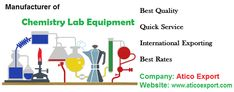 We supply a list of equipments like: #test #tube #stand round, #atomic #grain #moisture #meter, #metabolic #shaker, #spatula, #retort #clamp and many other products for #chemistry #lab. If you have any query then contact us at 0171 400 4736 without any hesitation.