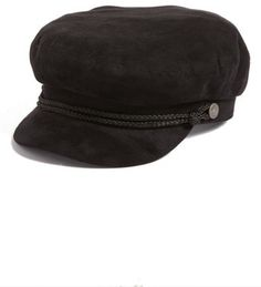 Womens Winter Autumn Cotton Cadet Crinkly Military Hats Slouch Crown Box Caps