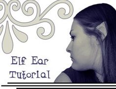 Elf Ear Tutorial by ~imperiusunforgivable on deviantART Elf Ears, Theatrical Makeup, Sfx Makeup, Out Of This World, Online Art Gallery, Makeup Looks, Community, Cosplay, Artist