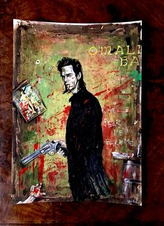 657e0ba146 My Nick Cave  O Malleys Bar  hand painted tribute. Prints are available