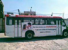 BUS DE DISEÑO ESTAFETA MÉXICO CONTRATA