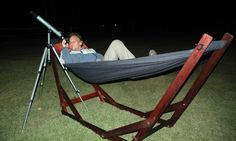 Wooden portable hammock stand with hammock. Indoor or Outdoor hammock lounger. Camping and Beach Hammock Lounger. Excellent for lounge, patio and garden. All products made in South Africa. Portable Hammock, Outdoor Hammock, Hammocks, Wooden Hammock Stand, Stargazing, Outdoor Furniture, Outdoor Decor, Sun Lounger, South Africa