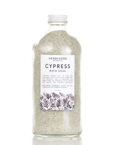 Herbivore Botanicals - Cypress Bath Soak