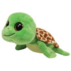 TY Beanie Boos - SANDY the Turtle ( Beanie Baby Size - 6.5 inch )