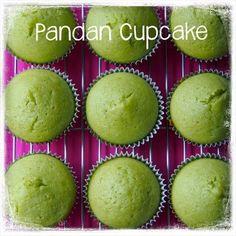 Pandan Cupcakes Recipe, Pandan Cake, Cupcake Recipes, Mini Cakes, Cupcake Cakes, Molten Lava Cakes, Bread Cake, Asian Desserts, Everyday Food