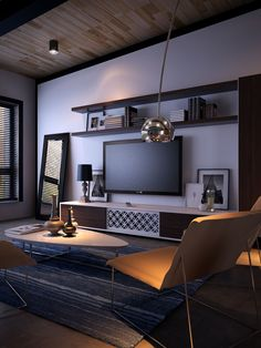 Easily create a stylish and sleek entertainment area you will cherish with our customisable entertainment units and wall storage combinations Entertainment Units, Entertainment Center Redo, White Tv Cabinet, Interior Architecture, Interior Design, Tv Decor, Home Decor, Tv Cabinets, Wall Storage