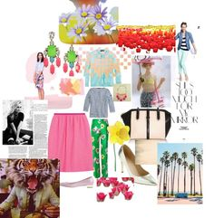 """""""Colorful Spring!"""" by deebenzdee on Polyvore"""