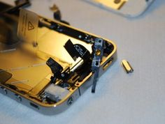 #iPhone 4 Power Button Fix #diy