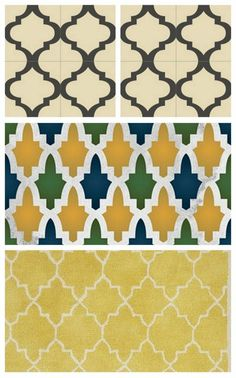 great colors! Morrocan.  Cool patterns.
