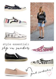 Slip on sneakers for summer