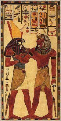 Hórusz – Wikipédia Egyptian Mythology, Ancient Egyptian Art, Ancient History, Egypt Art, African History, Magical Creatures, Fantasy Artwork, Archaeology, Amazing Art