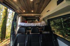 The Family Van Conversion - Freedom Vans Van Conversion Layout, Van Conversion Interior, Camper Van Conversion Diy, Cool Bunk Beds, Triple Bunk Beds, Sprinter Conversion, Small Studio Apartments, Sprinter Camper, Rv Interior