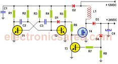 12v To 24v Converter Circuit Dc Dc Step Up Converter Aplicații