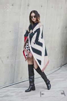 Seoul Fashion Week 2015 S/S Street style!!! #model #offduty #irene Kim