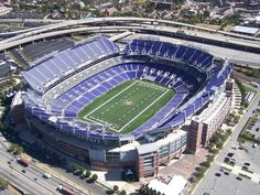 """M & T Bank Stadium - Home of the Baltimore Ravens"" ."