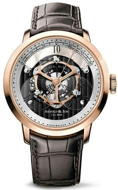 #BlackandGold ARNOLD & SON Men's Mechanical Watch