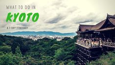 Kyoto truly is THE place to visit to experience Japan's history. Here is our ultimate 3 day Kyoto itinerary with all the highlights of what to do in Kyoto. Asia Travel, Japan Travel, Japan Trip, Kyoto Travel Guide, Kyoto Itinerary, Japan Beach, Japan Country, Visit Japan, Tourist Spots