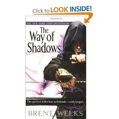 The nightangel trilogy by Brent Weeks, an amazingly exciting story, one of my favs