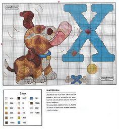 Flashup -- ALPHABET DOG -- X