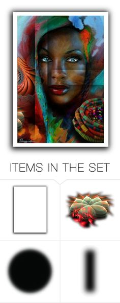 """Universal"" by incogneato ❤ liked on Polyvore featuring art"
