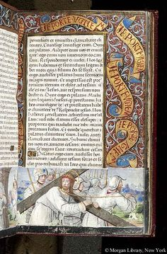 Book of Hours, M.618 fol. 10r - Images from Medieval and Renaissance Manuscripts - The Morgan Library & Museum