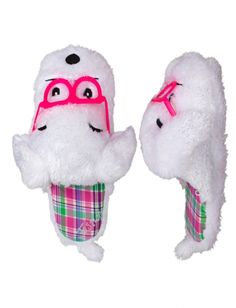Furry Dog Face Slippers | Girls Slippers Shoes | Shop Justice