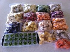 menu managed: Home Made Baby Food made EASY - @Kelly Kropiewnicki may the recipe collecting begin