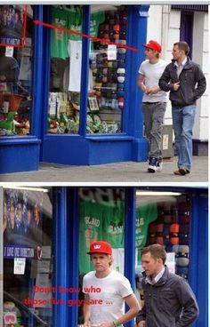 Haha Niall :)