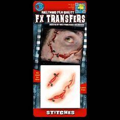 Stitches - 3D FX Transfers