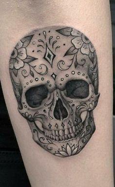 Inspiration pour gaby et moi Bild Tattoos, Dope Tattoos, Badass Tattoos, Black Tattoos, Body Art Tattoos, Sleeve Tattoos, Tatoos, Tattoos For Women Flowers, Foot Tattoos For Women