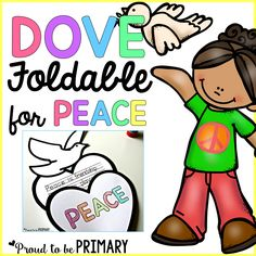 Dove peace foldable writing craft peace craft and for Peace crafts for sunday school