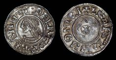 A beautiful original King Aethelred the Unready small cross type silver penny.  This coin is known as a small cross type due to the small cross on the reverse of the coin. This type of coin was issued during the reign of King Aethelred (978 - 1016) making it over 1000 years old.  The condition of the coin is rated as good very fine with only light wear to the higher areas and overall good condition.  This coin is guaranteed genuine.  Please ask any question you may have, high resolution…